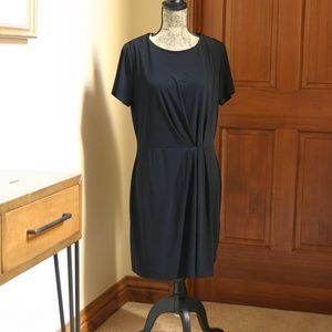 Ruched Detailed Shift Dress